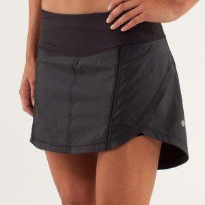 Lululemon Full Black Stride Skirt